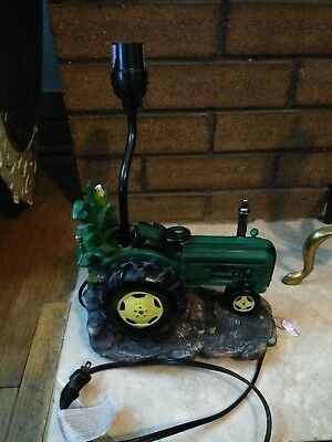 John Deere Tractor Table Lamp  Licensed