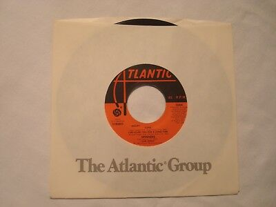 "The Spinners ""Cupid/I've Loved You For A Long Time"" Atlantic 7"" 45 Strong VG+"