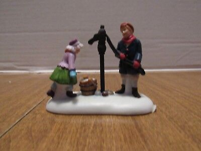 Dept 56  Dickens Village 2006 Fetching The Days Water Children At The Pump