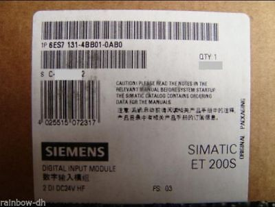 6ES7131-4BB01-0AB0 6ES71314BB010AB0 1 PC New Siemens In Box free shipping *PQT