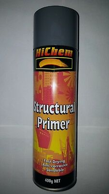 Hichem Structural Primer Grey 400g NET(New).