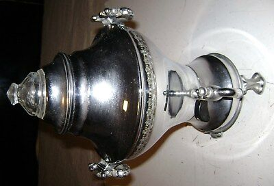 Antique Old Vintage United Automatic Coffee Maker Urn Percolator Model 840A Deco