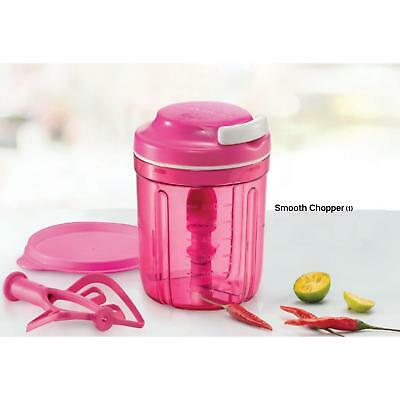 NEW Tupperware Smooth Chopper Pink 730ml FREE Postage