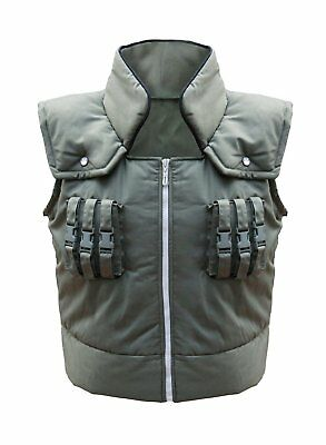 Naruto Kakashi Hatake Vest Cosplay Costume Adult US Size Men X-Large