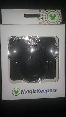 NEW Disney Parks Magic Keepers Magic Band 2 2.0 Puck MICKEY MOUSE Key Chain Fob
