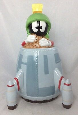 Warner Bros Studio Store 1997 Marvin the Martian Cookie Jar Looney Tunes