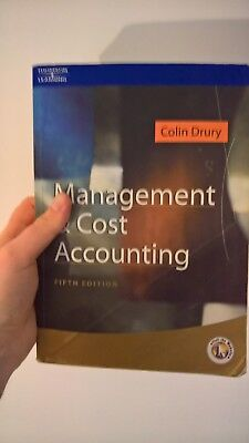 Cost and Management Accounting: An Introduction by Colin Drury (Paperback, 2003)