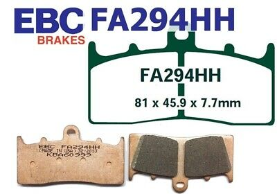 EBC Goldstuff sintered Brake Pads FA294HH front BMW R 1200 R ABS 2007-2014