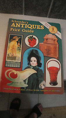 Schroeder's Antiques price guide 2001 19th edition Id & pictures book