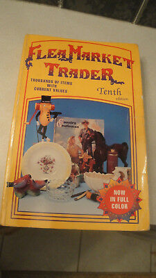 Flea  market Trader 10th edition  book with values Sharon & Bob Huxford
