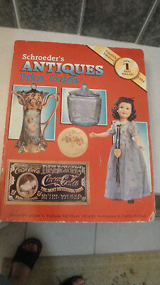 Schroeder's Antiques price guide 1994 12th edition Id & value book 0-89145-552-3