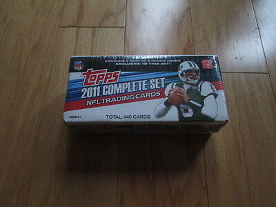2011 Topps Complete Football Factory Sealed Set MINT