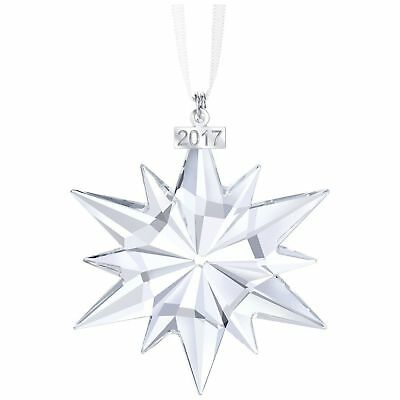 Swarovski 2017 Snowflake Large Annual Edition Christmas Ornament #5257589 Nib