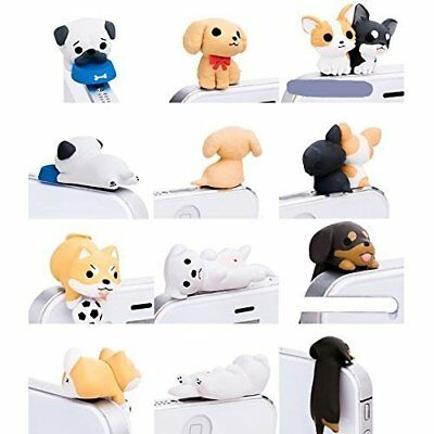 Little Puppy 3.5mm Dust Plug 6 Pcs of Jack Earphone Cap for iphone 5s/5/4s/4 S3
