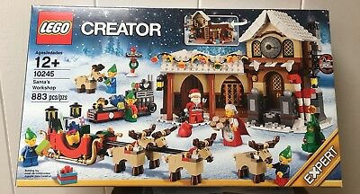 New & Retired LEGO Christmas Creator Set 10245 Santa's Workshop Sealed Box