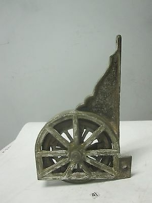 Antique Decorative Cast Iron pocket door pulley