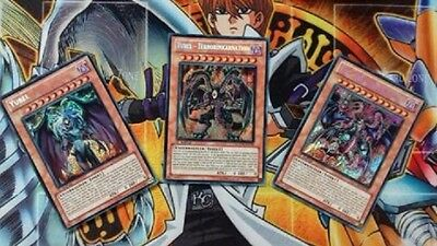 Set  Yubel Yubel Terrorinkarnation  Yubel der ultimative Albtraum DE NM 1st LCGX