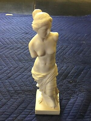 "11.5"" Nude Venus de Milo Aphrodite Greek Goddess Statue Sculpture Made in Italy"