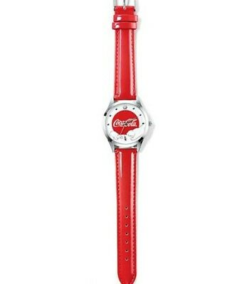 AVON 2016 Coca Cola Christmas Polar Bears Watch Red - NIB - Never Activated