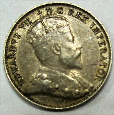 1907 Canada 5 Cents Higher Grade Coin *Old Canadian Nickel