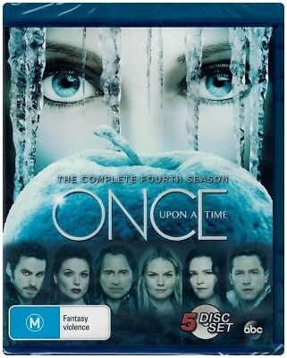 """ONCE UPON A TIME: Season 4"" Blu-ray 5 Disc Set - Region Free [B][A][C] NEW"