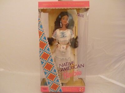 1992 Native American Barbie 1st Edition Dolls of the World Collection - NRFB !