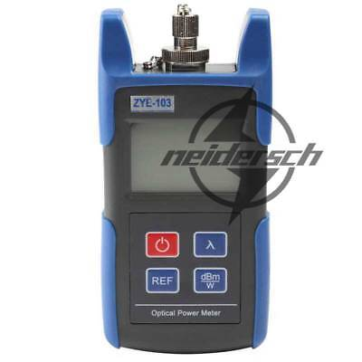 ZYE-103 NEW Mini Handheld Optical Power Meter With FC SC Connector -70~+10dBm