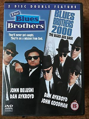 BLUES BROTHERS + blues brothers 2000 Musical Classic + Sequel Double Bill UK DVD