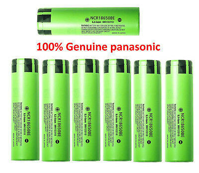 100% Genuine panasonic NCR 18650 3200MAH BE 20A Rechargeable Battery UK Seller