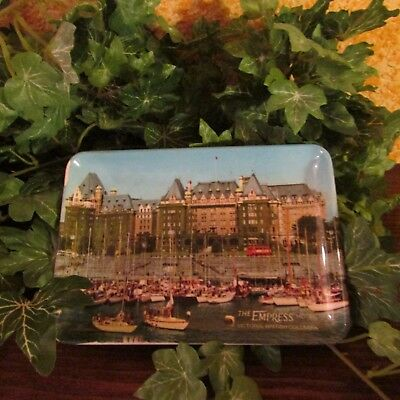Small The Empress Hotel Victoria British Columbia Melamine tray Made in Italy