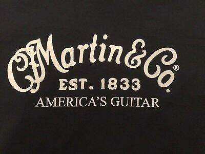 CF Martin Guitar Shirt d-28 acoustic lx1 x series drs2 lxk2 hd-28 Black