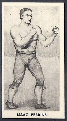 Cartledge-Famous Prize Fighters Boxing (Matt White Print)-#04- Isaac Perrins