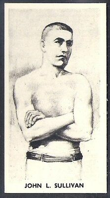 Cartledge-Famous Prize Fighters Boxing (Matt White Print)-#18- John Sullivan