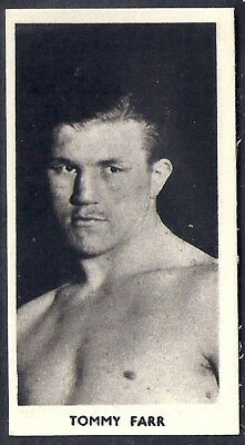 Cartledge-Famous Prize Fighters Boxing (Matt White Print)-#37- Tommy Parr
