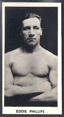 Cartledge-Famous Prize Fighters Boxing (Matt White Print)-#38- Eddie Phillips