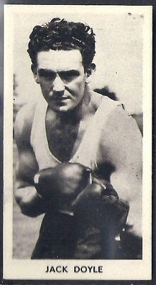 Cartledge-Famous Prize Fighters Boxing (Matt White Print)-#50- Jack Doyle