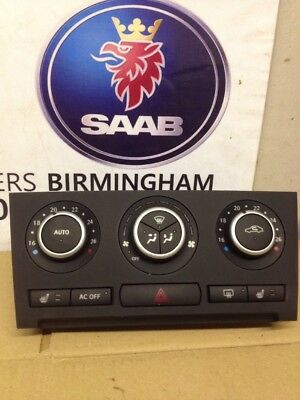 saab 9 3 2003 2006 climate control a c heater buttons. Black Bedroom Furniture Sets. Home Design Ideas