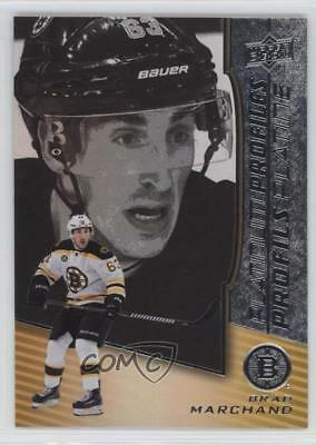 2017 Upper Deck Tim Hortons Collector's Series #PP-4 Brad Marchand Boston Bruins