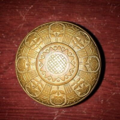 Antique  Nashua VICTORIAN Eastlake  Cast Solid  Bronze DoorKnob, #2