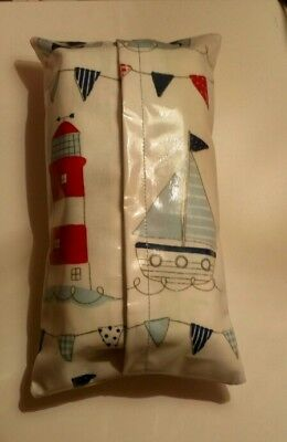 Nautical Boat Lighthouse PVC Baby Wipes, Wet Wipes Case/Cover