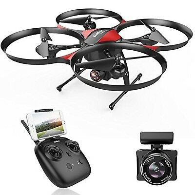 DROCON Traveler Beginner Drone with Optical Anti-Shake HD FPV Camera 1280 x 7...