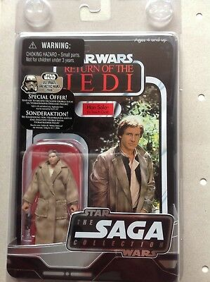 Star Wars The Saga Collection  # Special Offer Collector´s Figur Han Solo