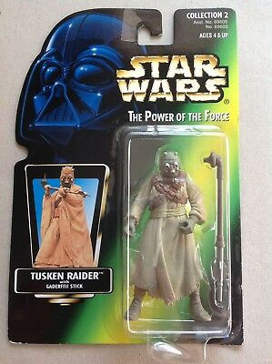 Star Wars The Power of the Force # Tusken Raider Collection 2