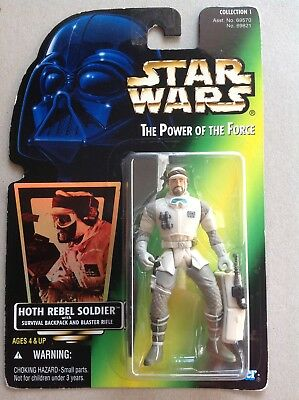 Star Wars The Power of the Force # Hoth Rebel Soldier Collection 1