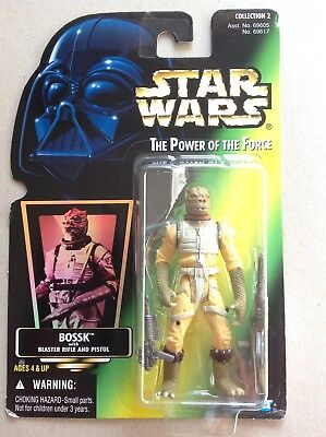 Star Wars The Power of the Force # Bossk Bounty Hunter Collection 2