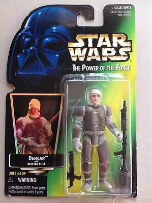 Star Wars The Power of the Force # Dengar Bounty Hunter Droid Collection 2