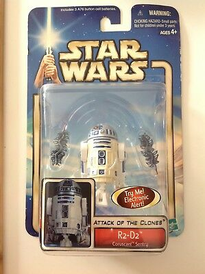 Star Wars Episode 2 Attack of the Clones R2-D2 Corusant Sentry