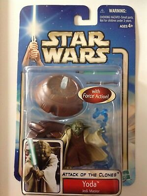 Star Wars Episode 2 Attack of the Clones Yoda Jedi Meister