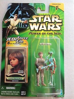 Star Wars Power of the Jedi # Anakin Skywalker Collection 1 Jedi Force File