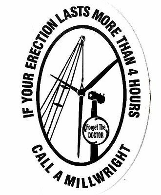 Millwrights 5 DECALS + 5 SETS of free pocket charts  #25